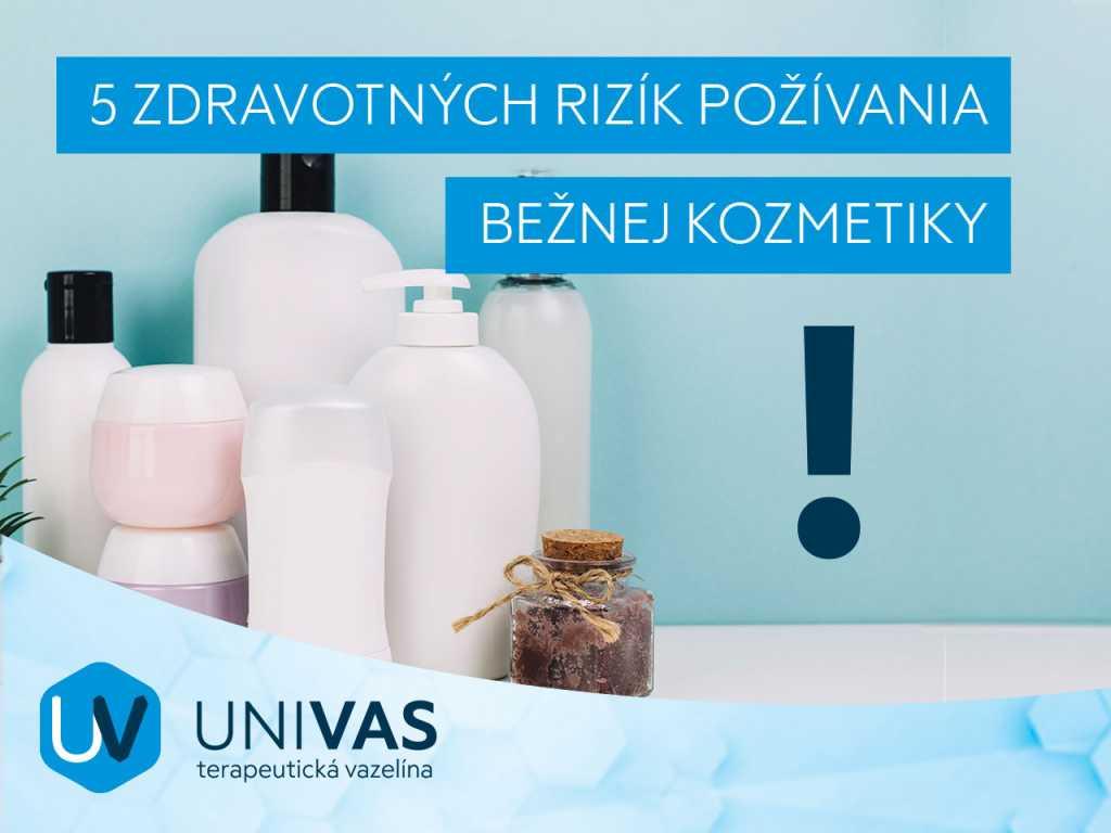 5 zdravotných rizík používania bežnej kozmetiky