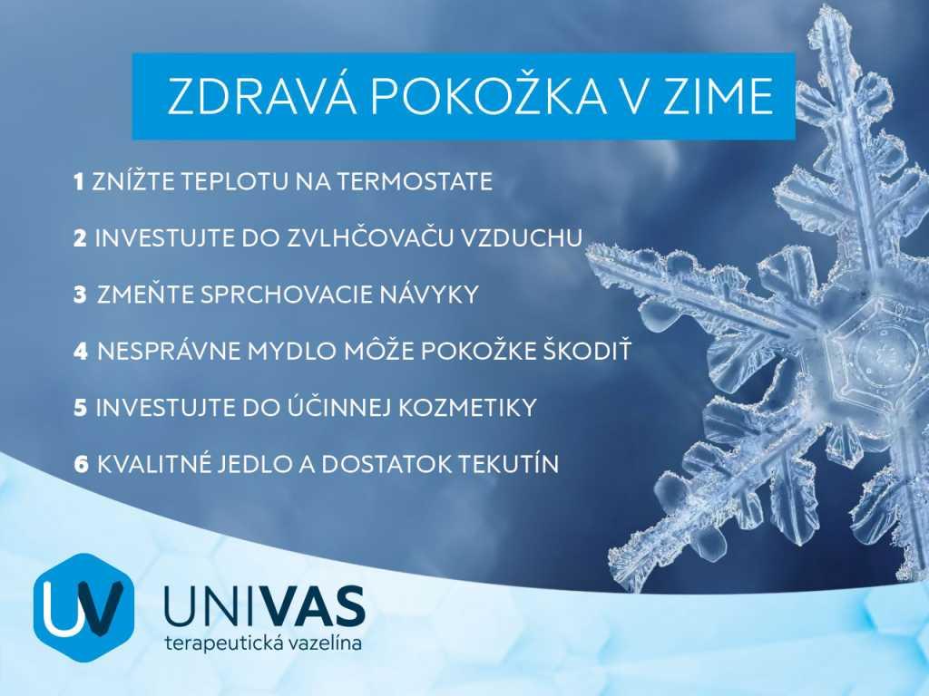 Zdravá pokožka v zime